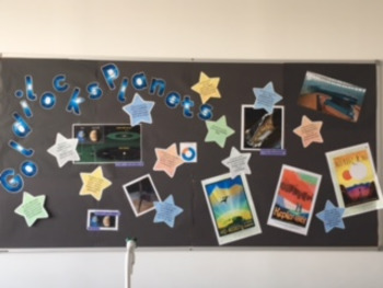 """Goldilocks Planets"" display"