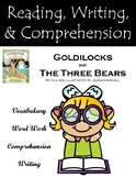 """Goldilocks and The Three Bears"" Guided Reading Program Activities"