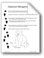 'Goldilocks and the Three Bears': Classroom Management Ideas