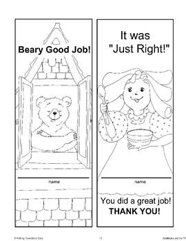 """Goldilocks and the Three Bears"": Classroom Management Ideas"