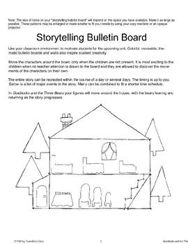"""Goldilocks and the Three Bears"": Storytelling Bulletin Board"