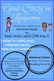 """Gone Crazy in Alabama""  By R. Williams-Garcia Literature Unit (Black and White)"