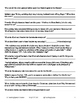 """Gone With The Wind"" Movie Guide with Key *editable*"