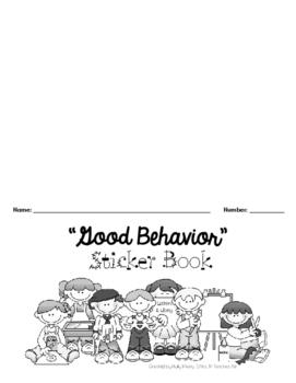"""""""Good Behavior"""" Sticker Book"""
