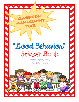 """Good Behavior"" Sticker Book"