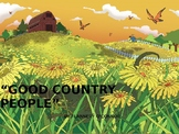 """Good Country People"" by Flannery O'Connor"