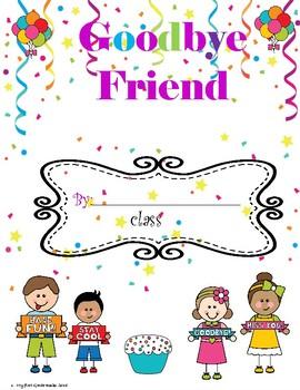 """Goodbye Friend"" Memory book"