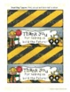 """""""Goodie Bag"""" Toppers (Construction Theme)"""