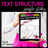 Google Slides Distance Learning Text Structure RI3.8