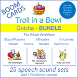 """Gotcha"" THE WHOLE ENCHILADA Boom Cards Bundle (Troll in a Bowl)"