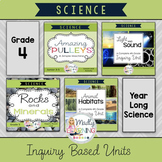 ONTARIO SCIENCE: Gr.4  Full Inquiry Based Science Unit **FULL YEAR BUNDLE **