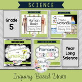 (Gr.5) Complete Inquiry Science Units Bundle