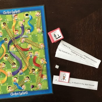 """""""Grab and Go"""" Sentence Strips for Articulation (Pack Two)"""