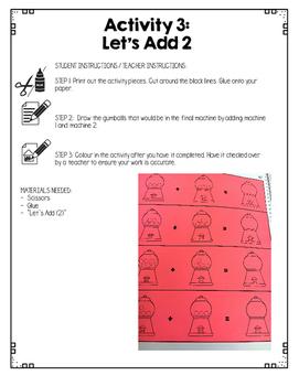 {Grade 1} Addition Interactive Notebook