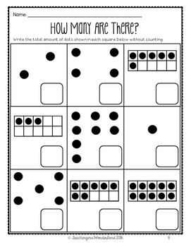 {Grade 1 Alberta} Numbers to 20 Activity Packet