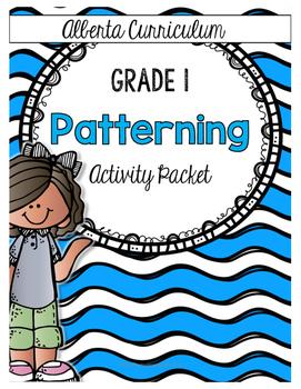 {Grade 1 Alberta} Patterning Activity Packet