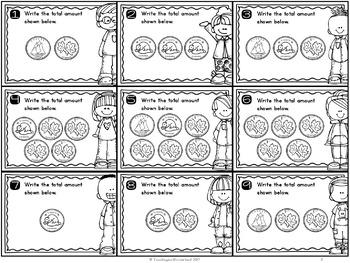 {Grade 1} Canadian Money to 20 cents Mathtivity Cards
