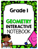 {Grade 1} Geometry Interactive Notebook