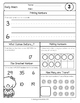 {Grade 1} January Daily Math Packet