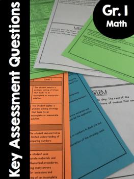 {Grade 1} Key Mathematical Assessment Questions