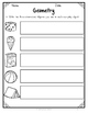 {Grade 1} Math Test Assessment Packet