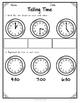 {Grade 1} Math Test Assessment Packet