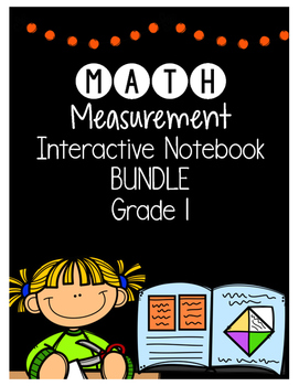 {Grade 1} Measurement Interactive Notebook Bundle