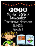 {Grade 1} Number Sense and Numeration Interactive Notebook Bundle