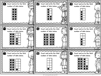 {Grade 1} Numbers to 50 Mathtivity Cards