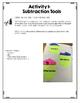 {Grade 1} Subtraction Interactive Notebook