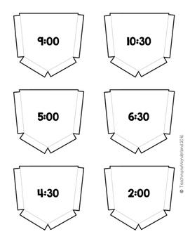 {Grade 1} Time Interactive Notebook