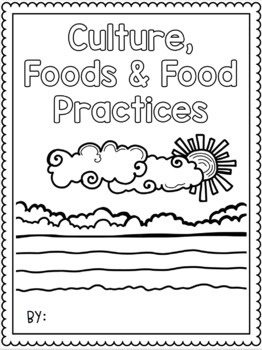 {Grade 11, HFC 3E} Unit 1: Culture, Foods, and Food Practices Activity Packet