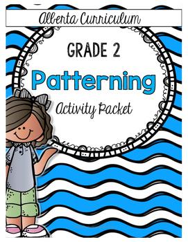{Grade 2 Alberta} Patterning Activity Packet