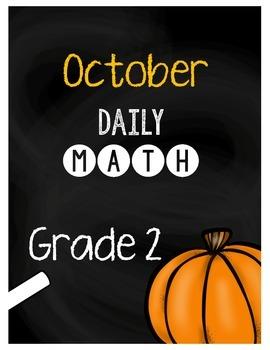 {Grade 2} October Daily Math Packet