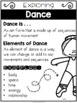 {Grade 2} Unit 1: Dance Activity Packet