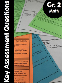 {Grade 2} Key Mathematical Assessment Questions