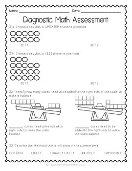 {Grade 2} Ontario-Based Diagnostic Math Assessment Test