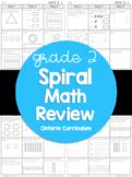 (Grade 2) Ontario Spiral Math Review