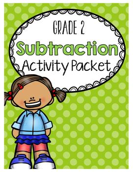 {Grade 2} Subtraction Activity Packet
