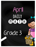 {Grade 3} April Daily Math Packet