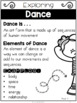 {Grade 3} Unit 1: Dance Activity Packet