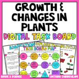 (Grade 3) Digital Learning Task Board: Growth and Changes