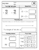 {Grade 3} February Daily Math Activity Packet