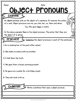 {Grade 3} Grammar Activity Packet