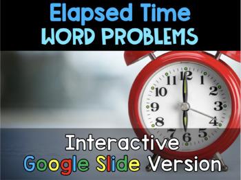 {Grade 4} Elapsed Time Interactive Google Slides Packet