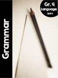 {Grade 4} Grammar Activity Packet