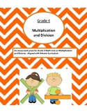{Grade 4} Math Test Multiplication and Division