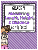 {Grade 4} Measuring Length, Height & Distance Activity Packet