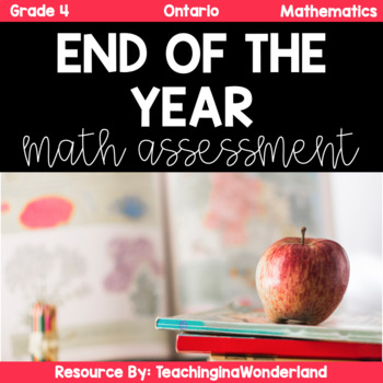 {Grade 4} Ontario End of Year Math Review