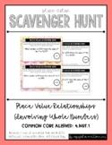 {Grade 4} Place Value Scavenger Hunt #1: Place Value Relationships